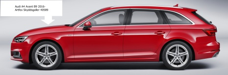 Artfex Hundgaller Audi A4 Avant 2016- (B9)